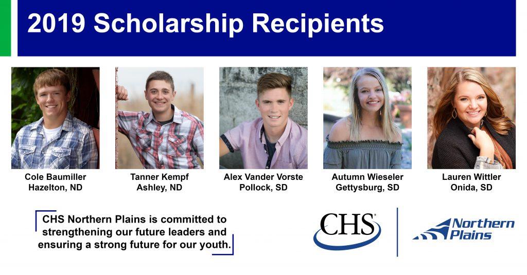 Local high school seniors awarded CHS Northern Plains