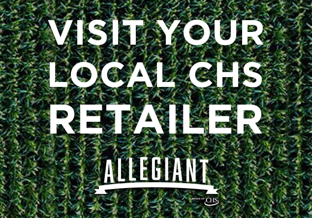 Visit Your Local CHS Retailer for Allegiant Seed